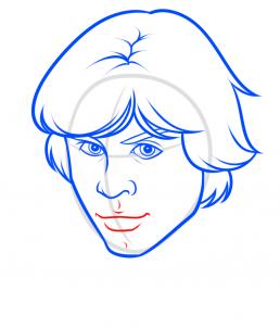 Как нарисовать Люка Скайуокера 19