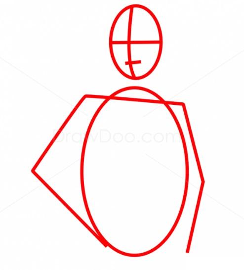 Как нарисовать Люка Скайуокера 1