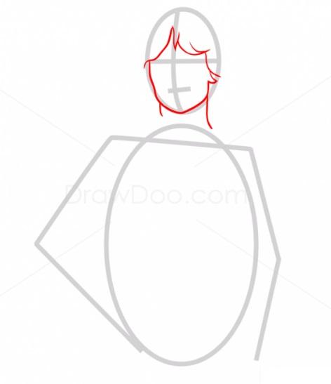 Как нарисовать Люка Скайуокера 2