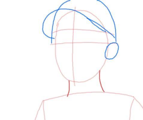 Как нарисовать Клементину из игры 4