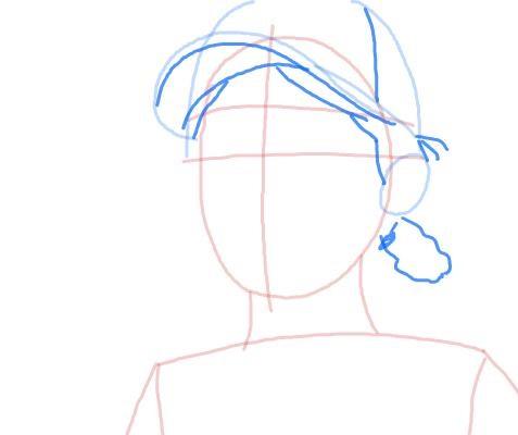 Как нарисовать Клементину из игры 5
