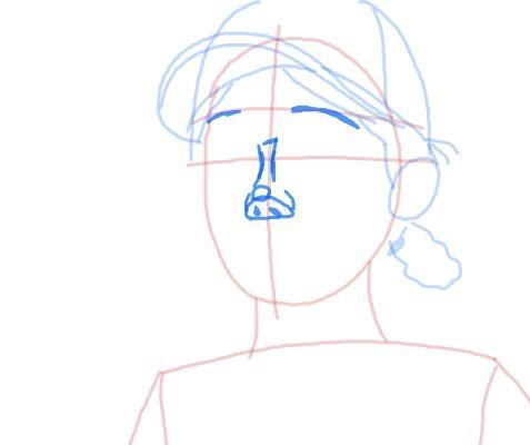Как нарисовать Клементину из игры 6