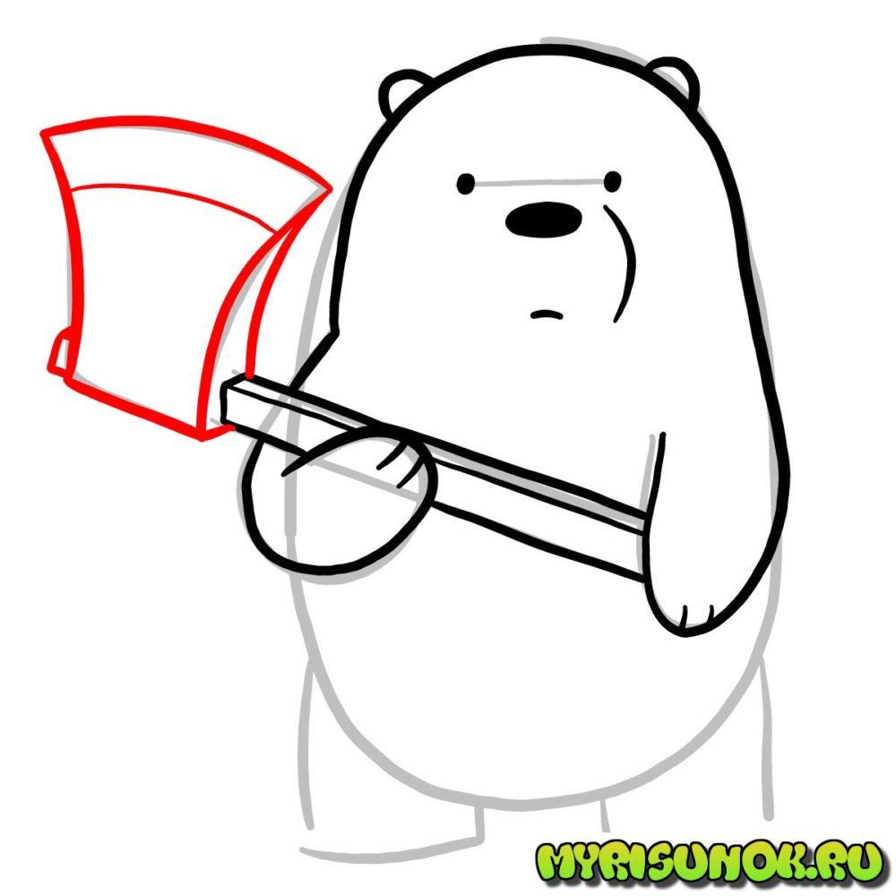 Как нарисовать Белого 5