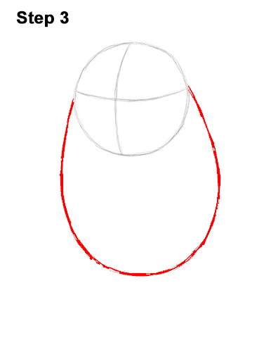 Как нарисовать порга 3