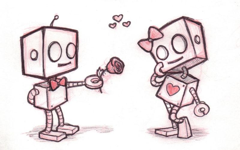 Срисовка влюбленных 15