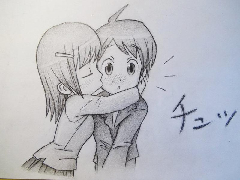 Срисовка влюбленных 0