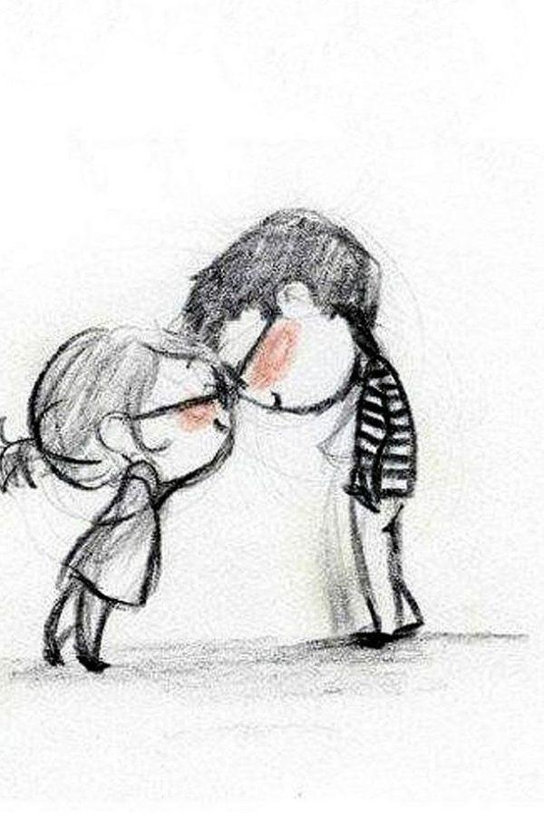 Срисовка влюбленных 20