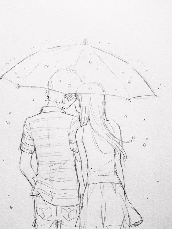 Срисовка влюбленных 5