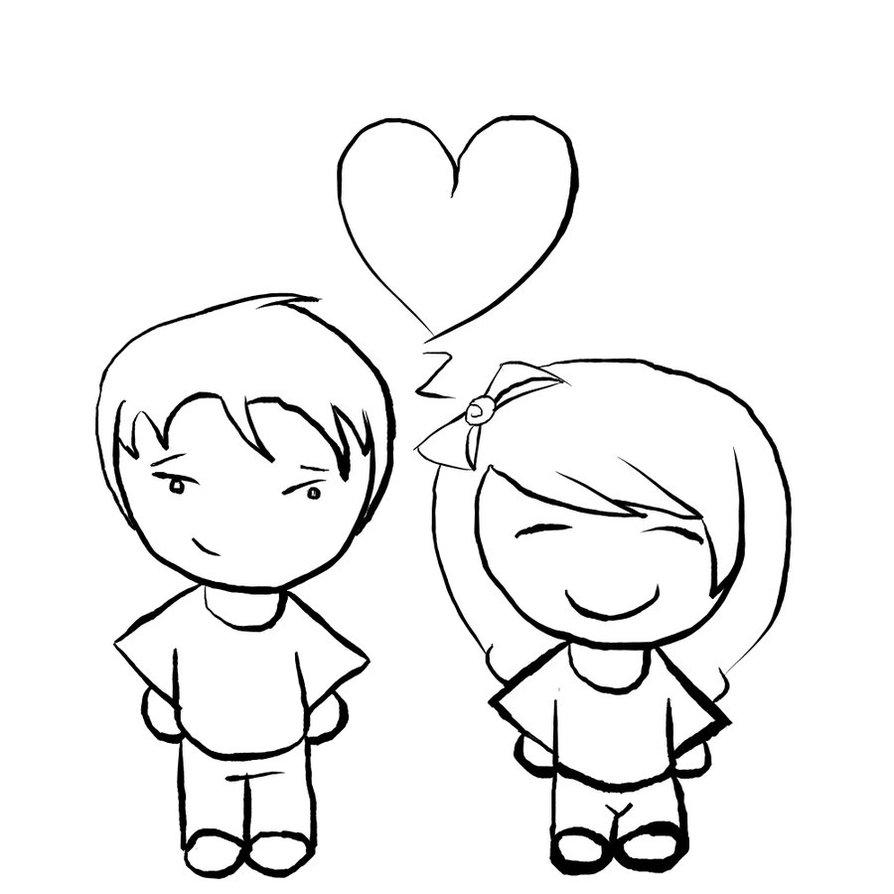 Срисовка влюбленных 6