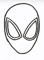 как нарисовать Майлза Моралеса 1