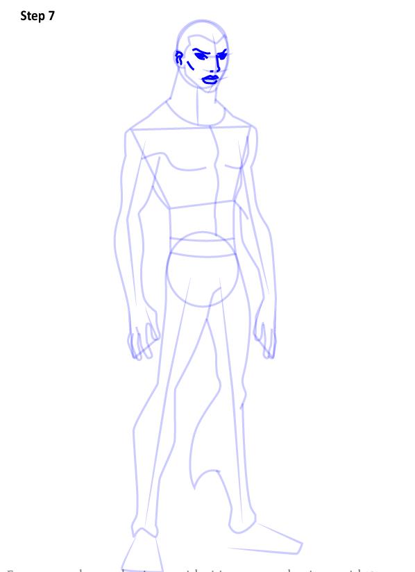 Как нарисовать Аквалэда 7