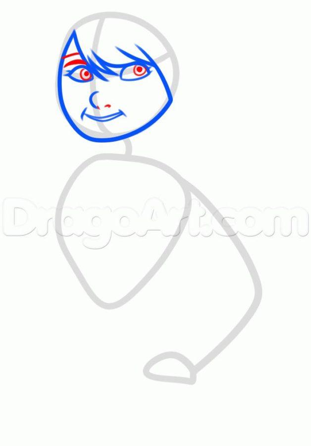 Как нарисовать Астрид 10
