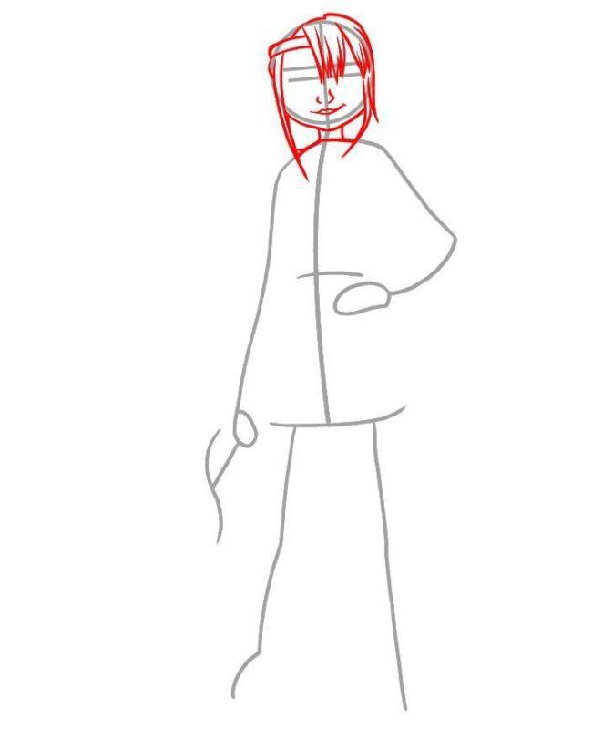 Как нарисовать Астрид 2