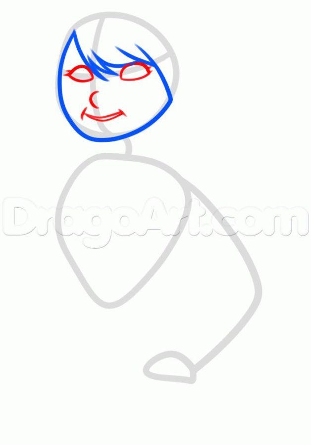 Как нарисовать Астрид 9
