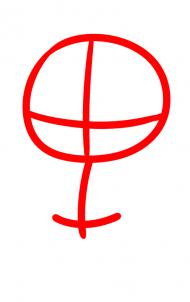 Как нарисовать Мэгги Грин 1