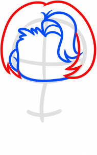 Как нарисовать Мэгги Грин 4