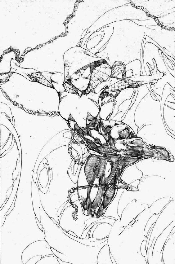 Срисовки Гвен Стейси 22