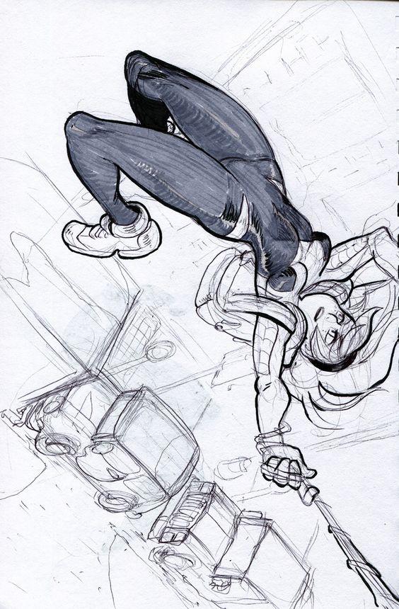 Срисовки Гвен Стейси 23