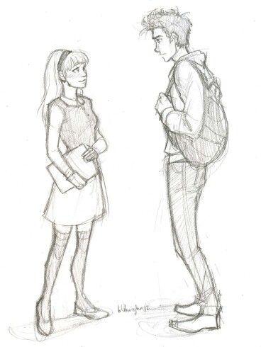 Срисовки Гвен Стейси 4
