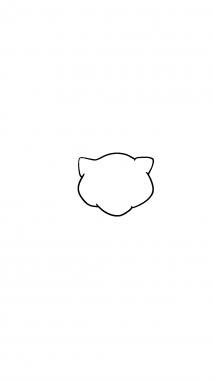 Как нарисовать Мью 1
