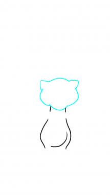 Как нарисовать Мью 2