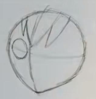 Как нарисовать Пени Паркер 2