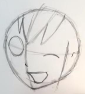 Как нарисовать Пени Паркер 3