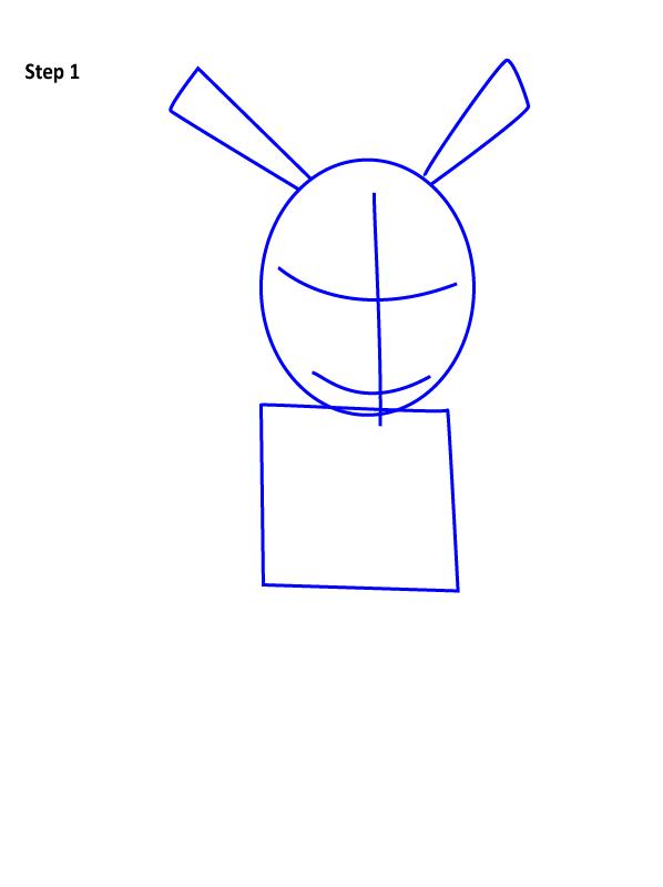 Рисуем Свина паука 1