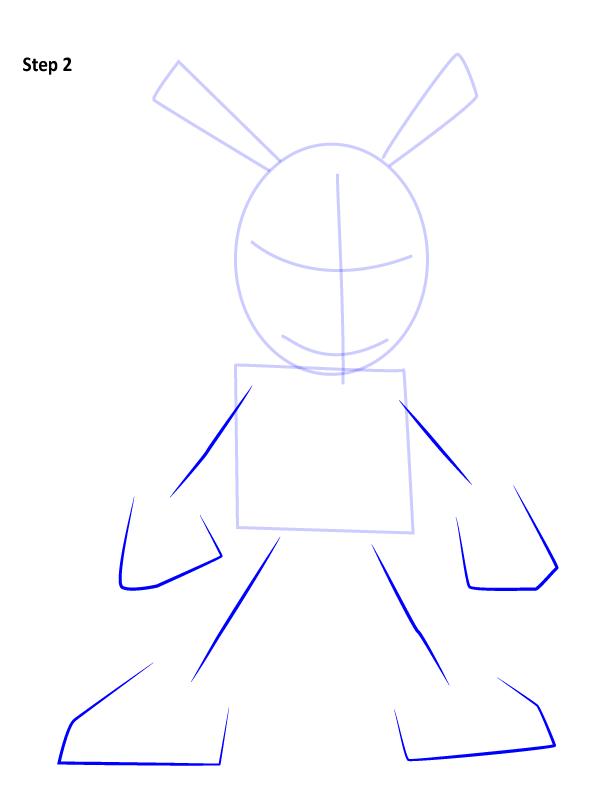 Рисуем Свина паука 2