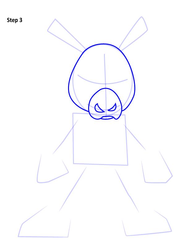 Рисуем Свина паука 3