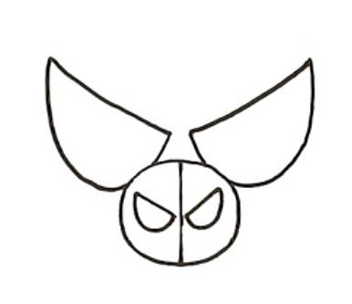Как нарисовать Свина Паука 2