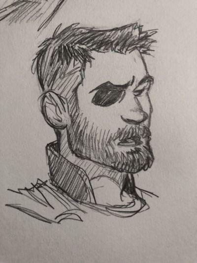 Срисовки Тора из Марвел 11