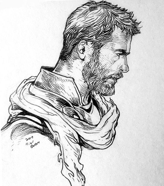 Срисовки Тора из Марвел 13