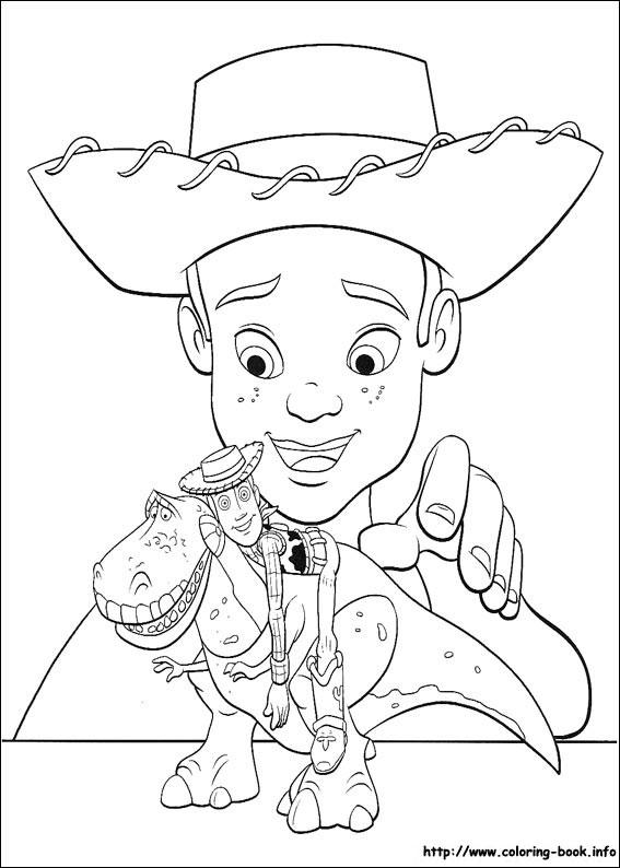 Раскраски из мультфильма История игрушек 15