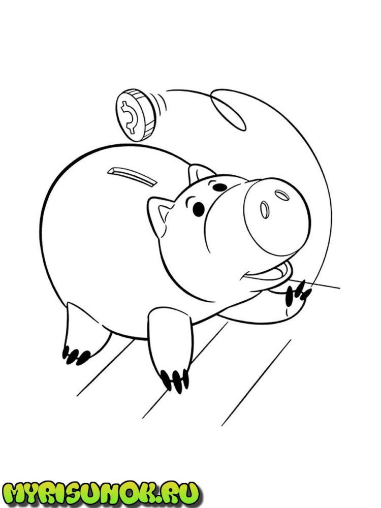 Раскраски из мультфильма История игрушек 18