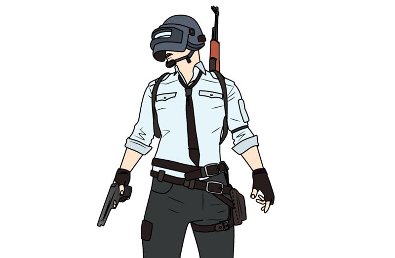 Рисуем игрока PUBG0