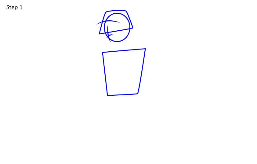 Как нарисовать игрока PUBG