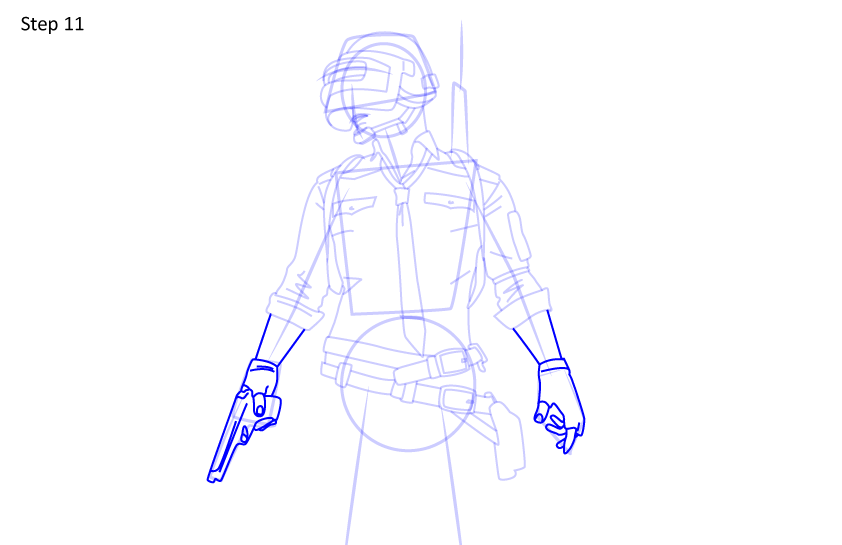 Рисуем игрока PUBG11