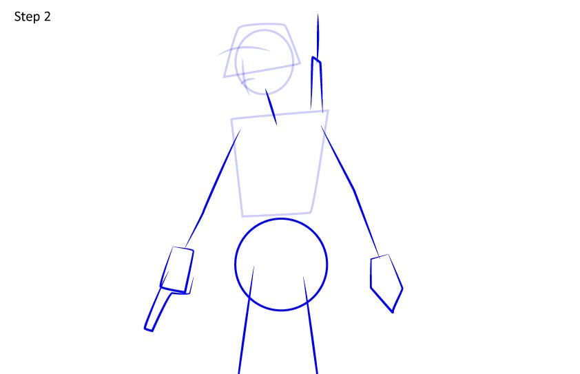 Рисуем игрока PUBG2