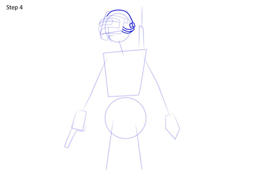 Рисуем игрока PUBG4