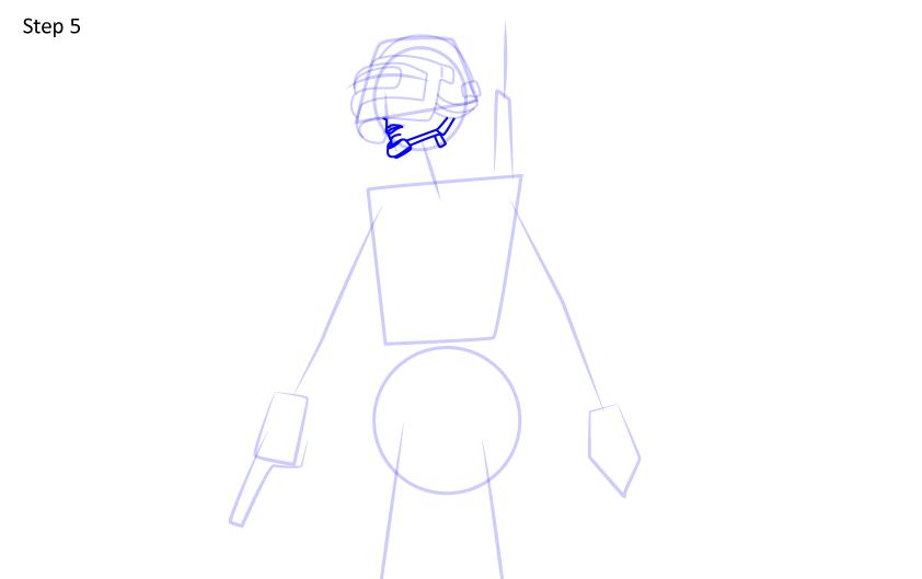 Рисуем игрока PUBG5