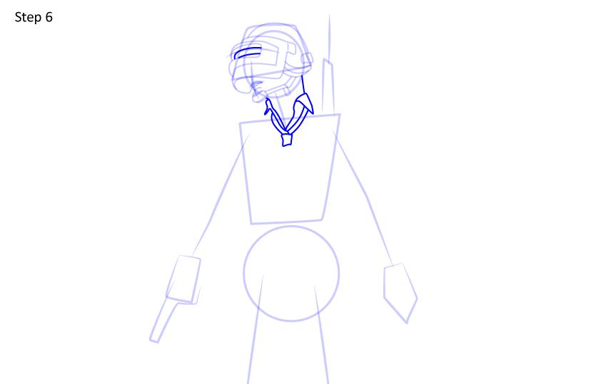 Рисуем игрока PUBG6