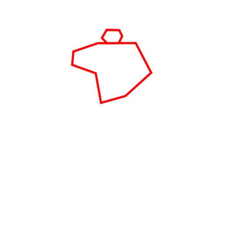 Как нарисовать Шоквейва 2