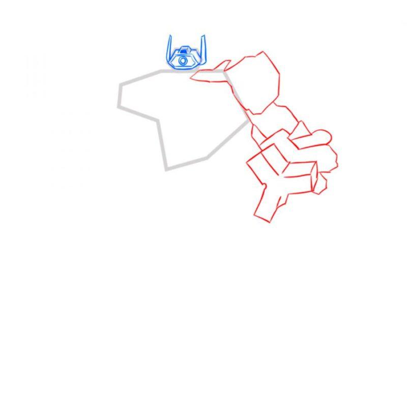 Как нарисовать Шоквейва 4