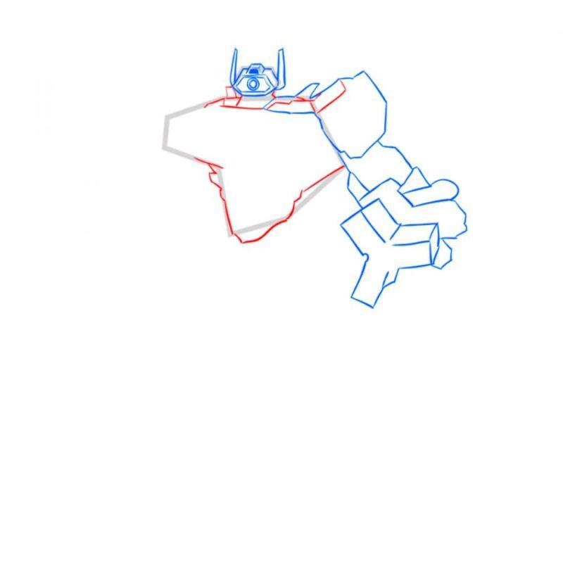 Как нарисовать Шоквейва 5