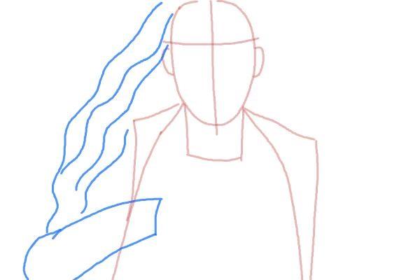 Как нарисовать Алую Ведьму 3