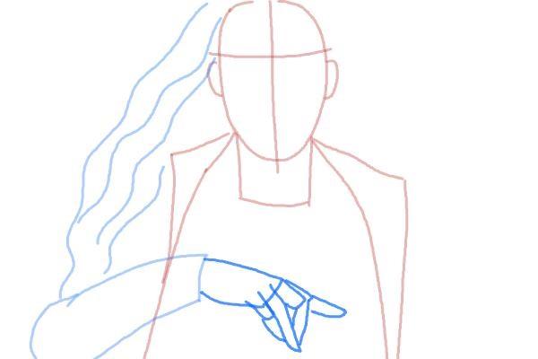Как нарисовать Алую Ведьму 4