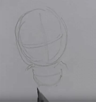 Рисуем чиби Дрого 1