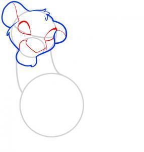 Как нарисовать Короля Льва 3