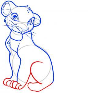 Как нарисовать Короля Льва 6